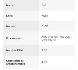 Dell Wyse DxOd-d90d 2gb, 4gb Flash, Win7