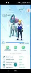 Conta pokemon GO lvl 31