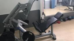 Equipamento de Musculação Leg Press Articulado