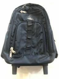 Mala de mão/mochila Belga marca Aoking preta