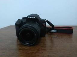 Canon t5 extra novinha 5k cliques na bag