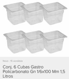 Cubas self-service de açaí