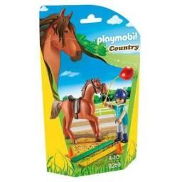 Playmobil 9259 Cavalo Com Treinadora, Novo, Lacrado!