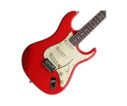 Guitarra Tagima Memphis Mg 32 Fr Vermelho Vintage