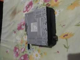 Rádio para carro com entrada para pendrav ,cabo auxiliar e cd