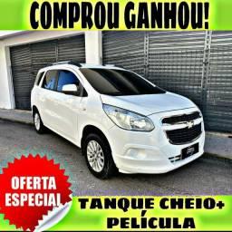 TANQUE CHEIO SO NA EMPORIUM CAR!!! SPIN 1.8 5 LUGARES ANO 2014 COM MIL DE ENTRADA