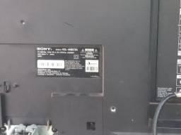 Tv 46 polegadas Sony com base e controle remoto