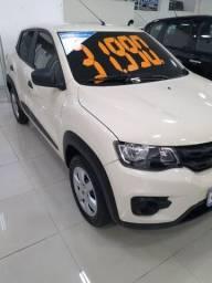 Renault kwid zen 1.0 branco manual
