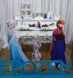 Vendo decoração Festa Infantil + mesas Cubo R$ 3.5000,00