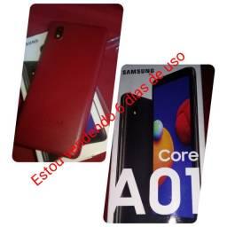 Celular Samsung A01core novo 6 dias de uso