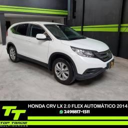 Honda CRV Lx 2.0 Flex Automática Branca 2014 (pouco rodado)
