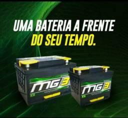 Bateria automotiva MG3 45 AH 45 amperes - 12x sem juros - 12 meses de garantia