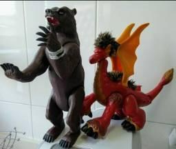 Dragão e urso imaginext