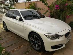 BMW 328I M Sport 2015 Branca Impecável