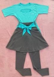 Conjunto Calça/saia e blusa ( entrega grátis ) p JP