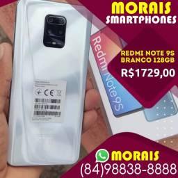 (Oferta Exclusiva) Redmi Note 9s 128Gb Branco Polar (Bateria 5.000 Mil Amperes)