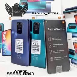 Xiaomi Redmi Note 9 4gb 128gb 12x 145,82 S/ Juros + Brinde - Loja Física