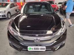 Título do anúncio:  Civic Sedan Exl 2.0 Flex Automatico 2018 /2018 Preta Un Dono