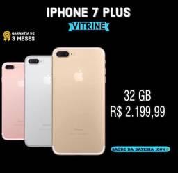 iPhone 7plus 32gb de vitrine