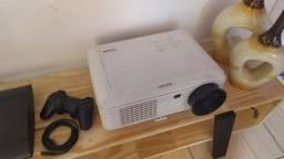 Projetor Exbom + PS3 250gb