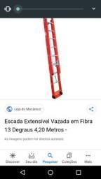 Escada fibra 9 metros