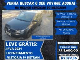 Volkswagen Voyage 2014 - 1.6 Super conservado !