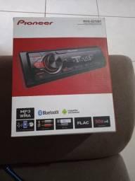 Rádio Pioneer novo 350,00