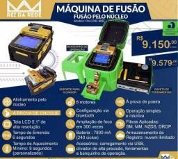 Máquina de fusão fibra ótica