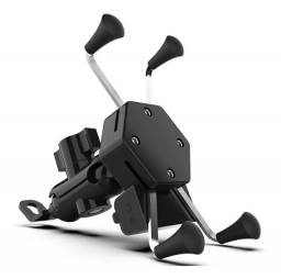 Suporte de smartphone para motos com carregador usb