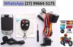 Título do anúncio: Rastreador Gps Bloqueador Veicular Tk-303g Prova D'agua