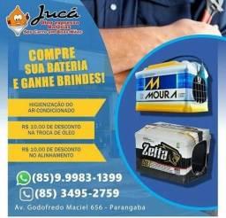 Bateria Moura 60AH com garantia de 24 meses especial pra você
