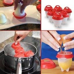 Forma De Silicone eggletes Para Cozinhar Ovos 6 peças fit