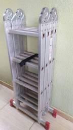 Escada alumínio articulada