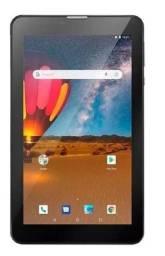 """Tablet Multilaser M7S Go 7"""" 16GB preto com memória RAM 1GB"""