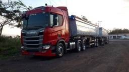 Título do anúncio: Scania R500 + Rodocaçamba
