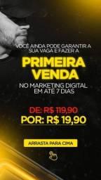 Vagas para curso de marketing digital
