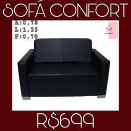 Sofá confort sofá confort sofá confort sofá confort real móveis