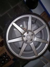 Título do anúncio: Rodas Aro 20 com 4 pneus