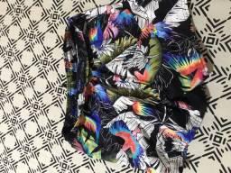 Short praia na moda