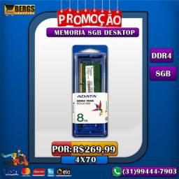 Memoria DDR4 8GB Desktop / Promoção / 4x70