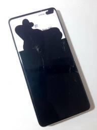 Samsung s10+ display com problema