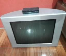 Tv 20 polegadas + conversor