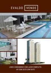 Área de lazer completíssima!!! Apartamento com 2 quartos sendo 1 suite. 9.8838.9499 Evaldo