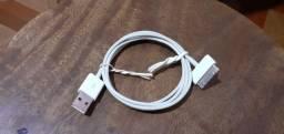 iPhone 4 cabos de carregador e capa