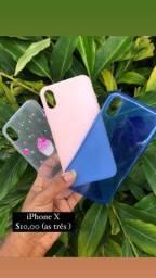 Lote Case /capa iPhone X