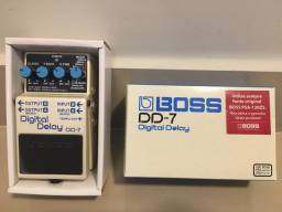 Pedal Guitarra Boss Digital Delay DD-7