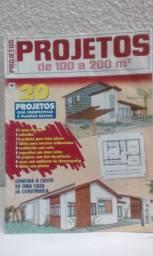 2 Revistas Projetos Arquitetônicos - Vendo ou Troco