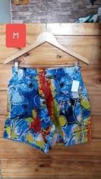 Título do anúncio: Shorts mauricinho estampado