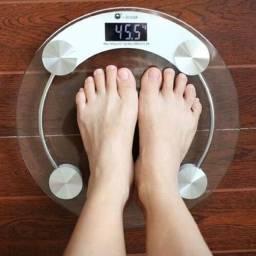 Balança Digital de pesar Pessoa Vidro temperadp Capacidade 180 kg Nova na Caixa Lacrada