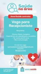 Vaga - Recepionista
